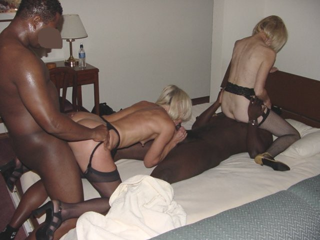 Black party swinger wife cock