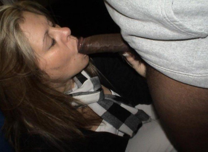 Wife caught sucking cock