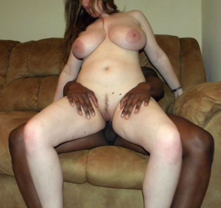 White Wife Rides Black Cock