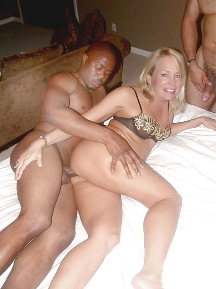 Hot interracial mom
