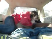 Amateur Interracial Couple Makes Sex in Back of the Van